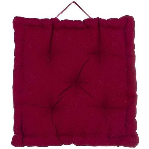 Cojín algodón Box - Rojo
