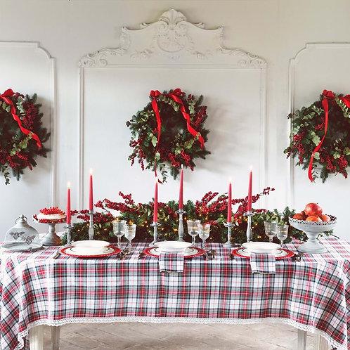 Mantel Canto di Natale - 150x180