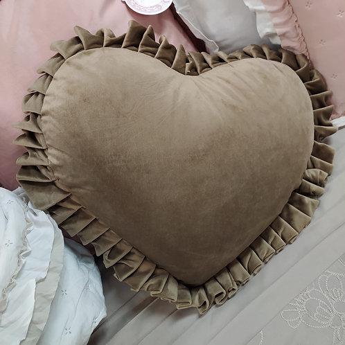 Cojín corazón Velvet