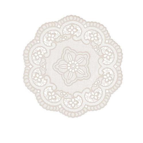 RICHELIEU - 4 Posa vasos plastificados beige