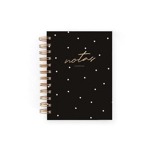 Cuaderno Mini Notas - Negro