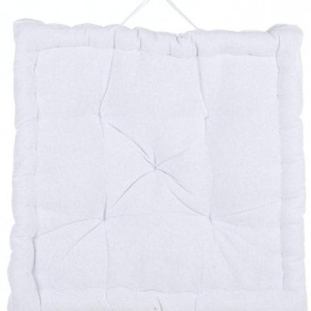 Cojín algodón Box - Blanco