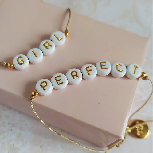WORDS - Pulsera hilo letras