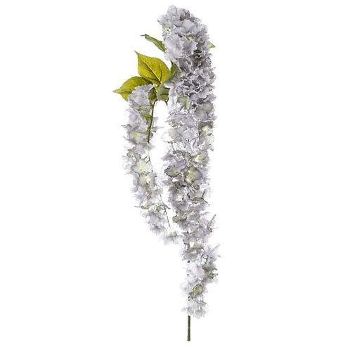 Hortensia Azul - Flor artificial alargada