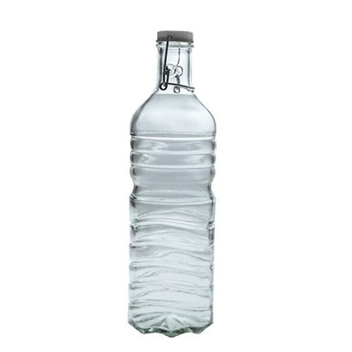 Botella agua vidrio reciclado 1,5 lt
