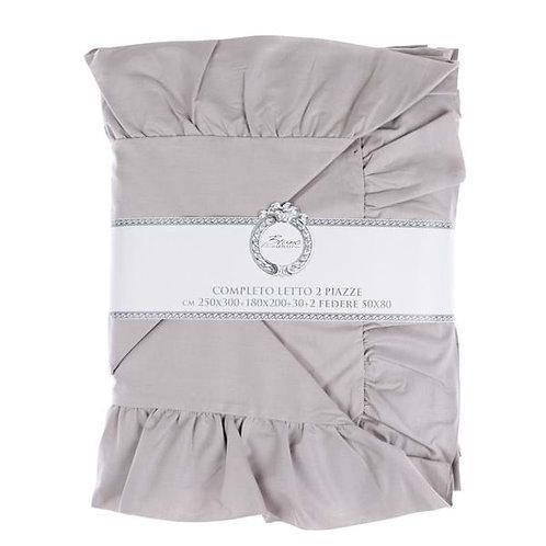Iris - Juego de sábanas gris