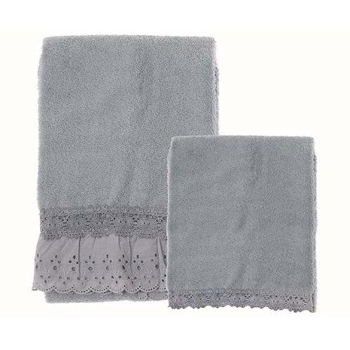 Innamorati - Juego de toallas azul