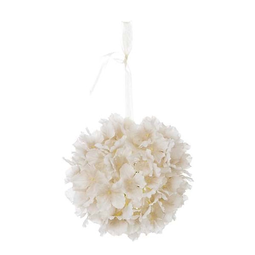 Hortensia Blanca - Flor artificial