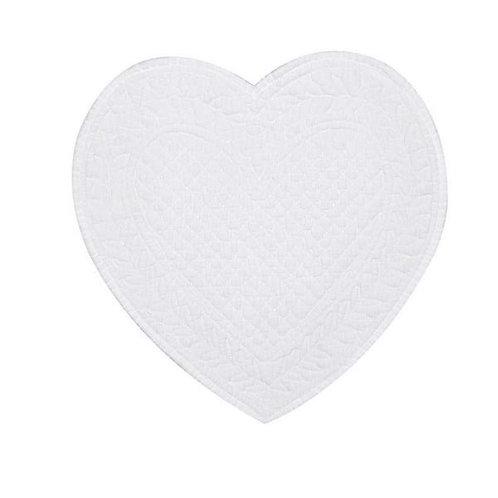 Mantel individual Cuore - Blanco