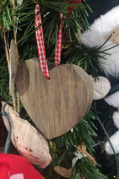 Corazón madera