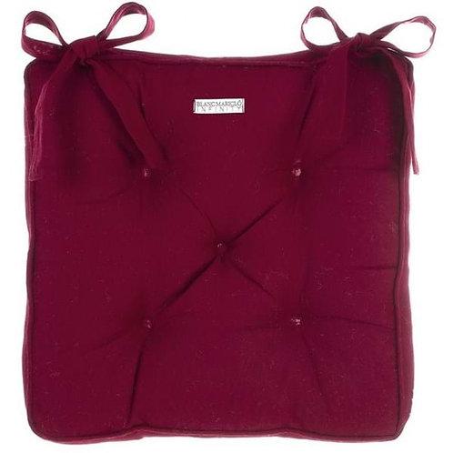Cojín resinado para silla - Rojo
