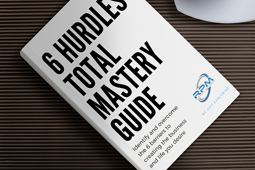 6 Hurdles – The Barriers To A Successful Business