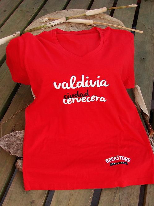 """Polera """"Valdivia Ciudad Cervecera"""""""