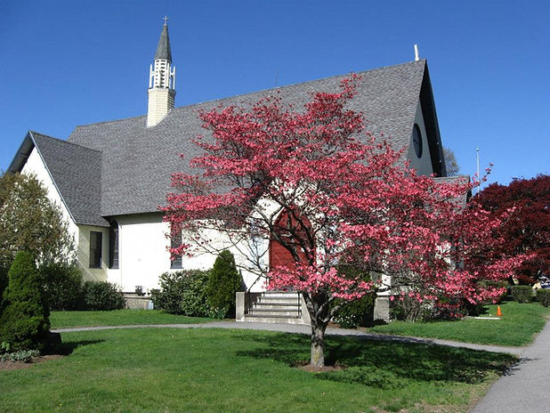 Church building with flowers.jpg