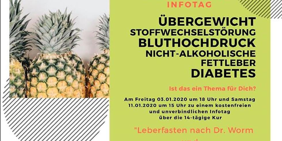 """Infotag """"Leberfasten nach Dr. Worm"""" + Entgiftung mit Liebscher&Bracht"""