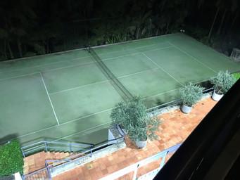 Tennis Court Lighting Residential