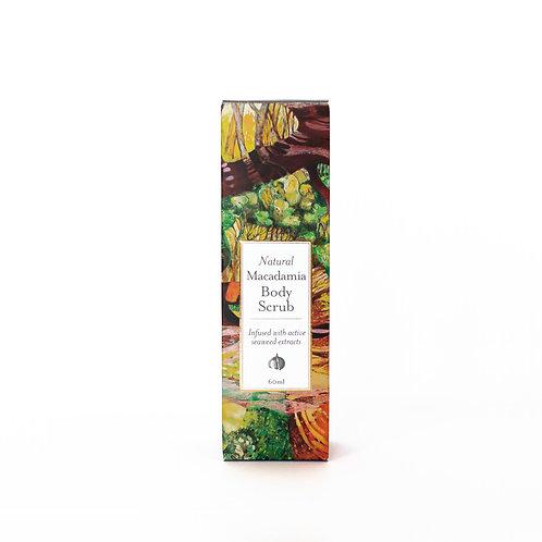 All Natural Macadamia & Seaweed Body Scrub