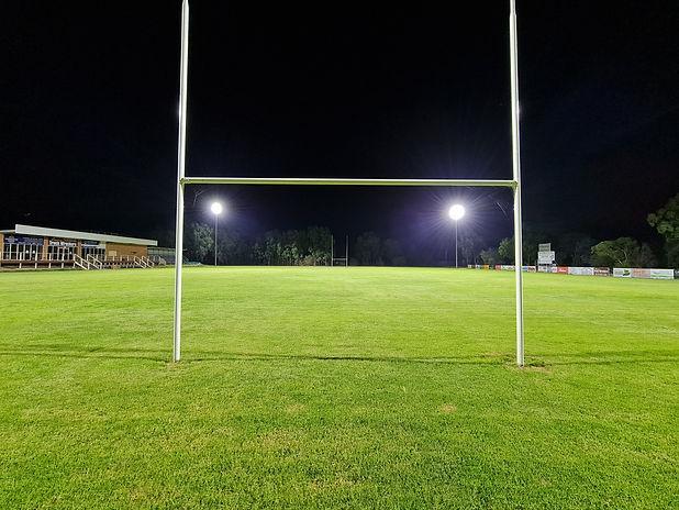 COWRA RUGBY CLUB IWE LED LIGHTING