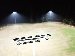 IWE Group Sports Field LED Floodlighting Install