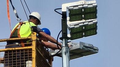IWE Group LED Lighting Installation and