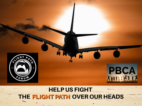 HELP US FIGHT THE FLIGHT PATH