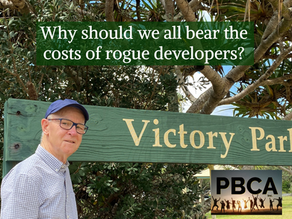 WHY SHOULD WE PAY FOR ROGUE DEVELOPERS ?