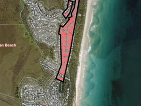'HOLLOWING OUT' OF PEREGIAN BEACH; IN MAPS