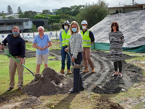 WORK STARTS ON OUR NEW COMMUNITY HOUSE