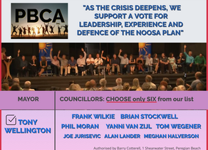 PBCA URGES A VOTE FOR EXPERIENCE.