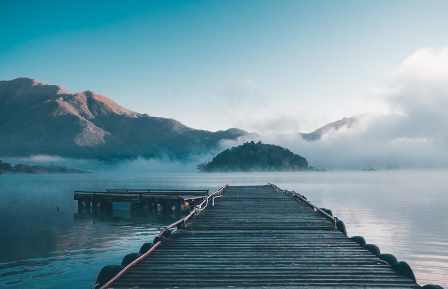 Misty Lake Kawaguchi