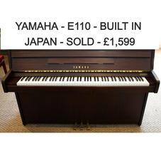 Yamaha - BUILT IN JAPAN -