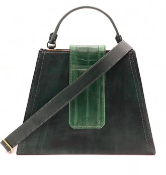 Green Trapezoid Front