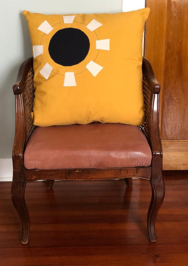 Darkside Sun Pillow