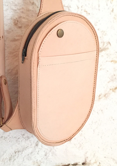Oval Front Body Bag