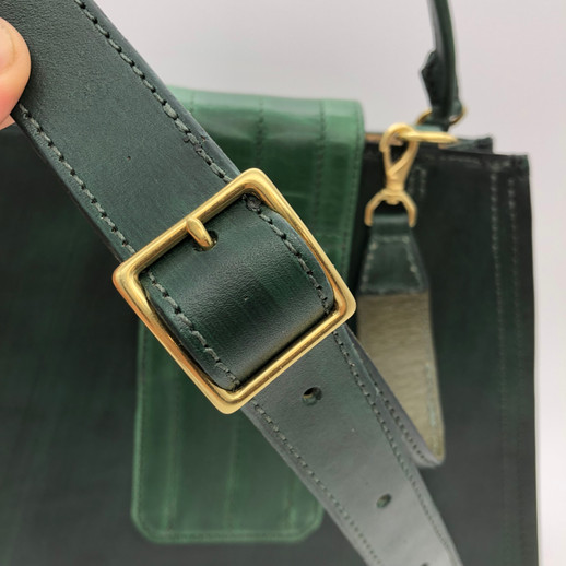 Green Trapezoid Strap Buckle