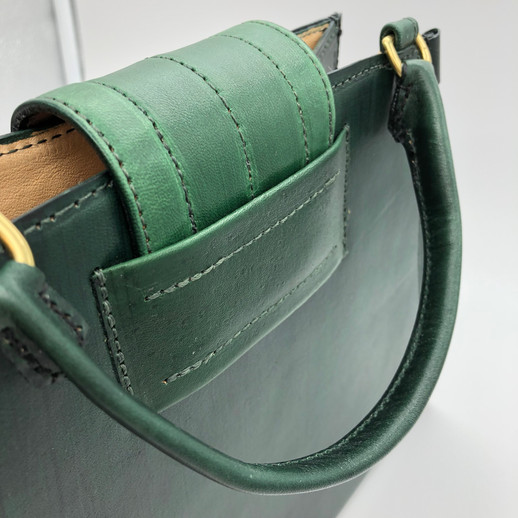 Green Trapezoid Flap Detail