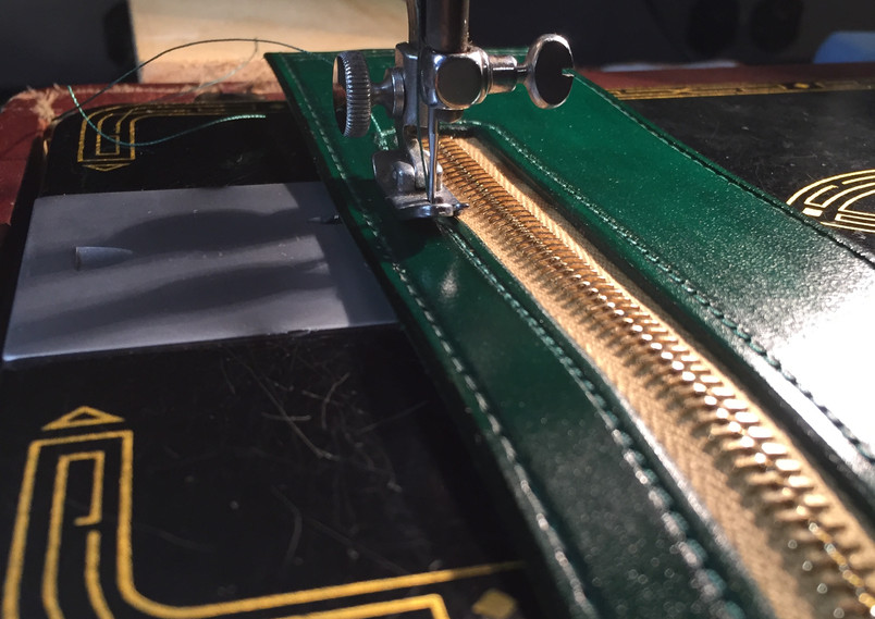 Stitching on a Vintage Singer 99K