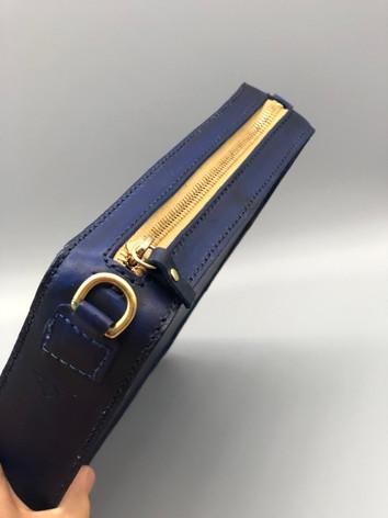 Brass details on Square Bag