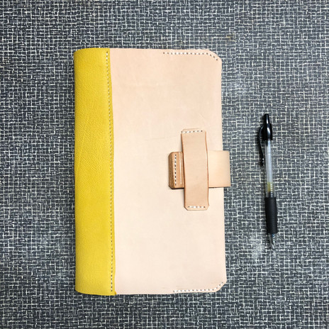 Leather Journal Cover with Closure