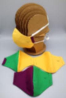 Mardi Gras Face Masks