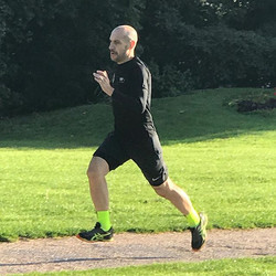 sprint session with exercises
