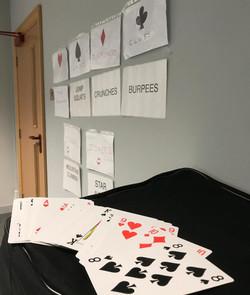 Playing Card Workout