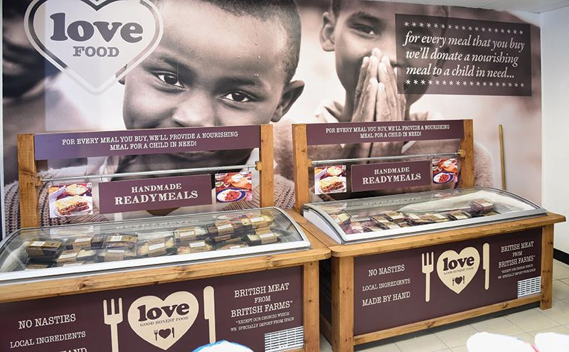 Love Frozen Foods - In-store