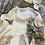 Thumbnail: Bavoir Réversible Rose et Blanc