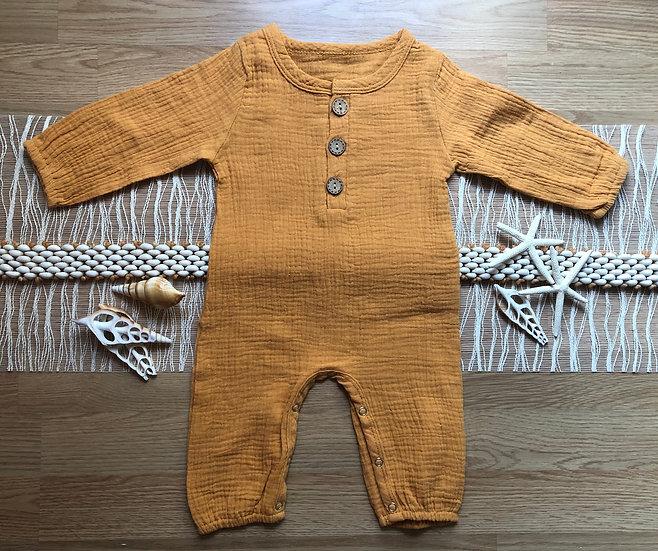 Combinaison Pantalon Bébé Moutarde
