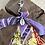 Thumbnail: Porte clefs oange/violet