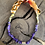 Thumbnail: Collier multicolor cylindre