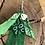 Thumbnail: Boucles d'oreilles vert foncé /vert clair