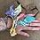 Thumbnail: Joncs lilas/ jaune/rosé /anis/menthe