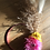 Thumbnail: 3  mini couronnes rose et moutarde